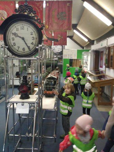 Owls udają się do Muzeum Kolejnictwa